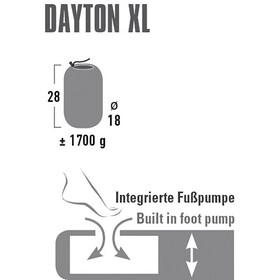 High Peak Dayton XL - Matelas - noir